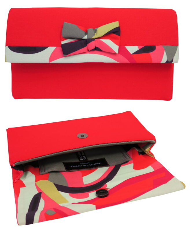 Clutch-rood-dessin-AvLCouture
