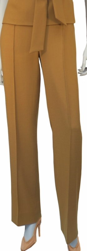 pantalon-crepe-geel-AvLCouture