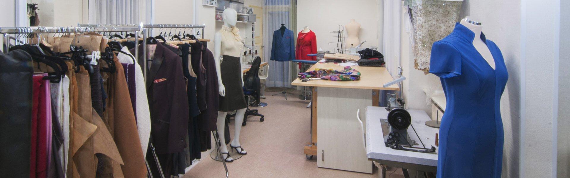 Atelier couturier Angeline van Leeuwen in den Haag