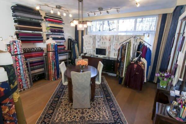 Showroom couture Angeline van Leeuwen