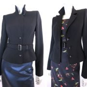little black jacket Avl Couture Den Haag