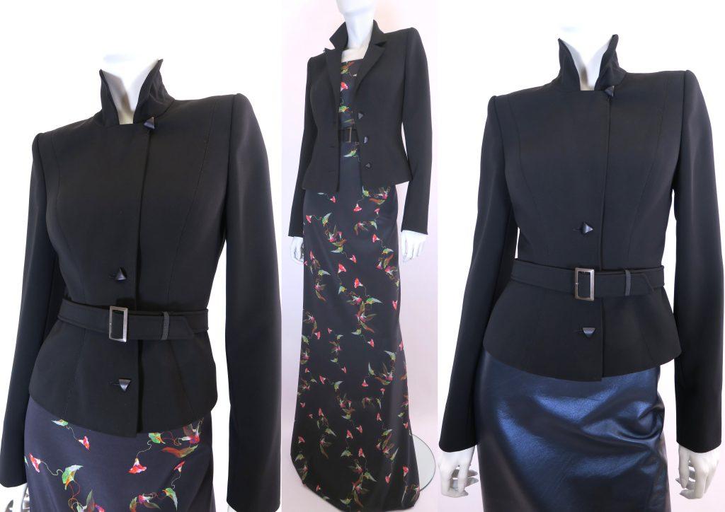 Little black jacket AvL Couture Den Haag