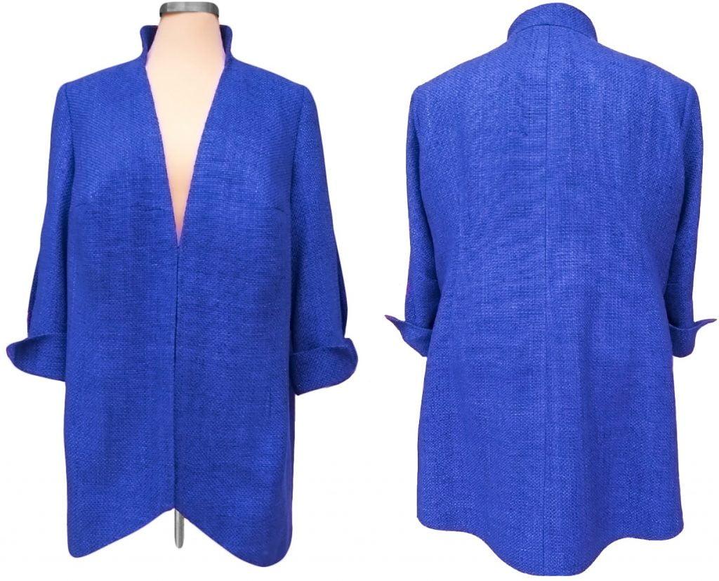 Blazer-kobaltblauw-AvLCouture-DenHaag